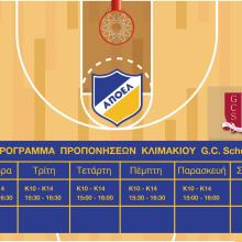 basket academy gc school